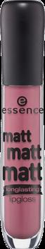 Блеск для губ Essence Matt matt matt lipgloss 06 розовато-лиловый: фото