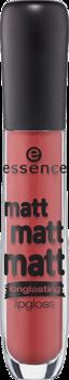 Блеск для губ Essence Matt Matt Matt! 08 коричнево-красный: фото