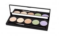 Палитра консилеров Make up Secret (5 Concealer Palette) 5 оттенков CP1 Цветная