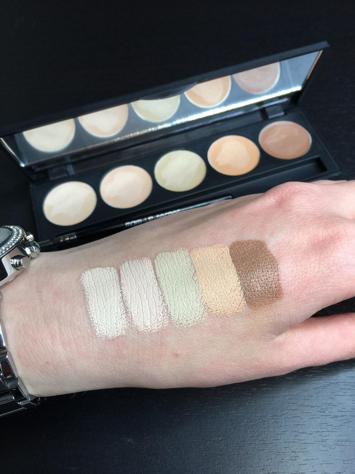Палитра консилеров Make up Secret (5 Concealer Palette) 5 оттенков CP2 Натуральная: фото