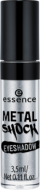 Тени для век Essence Metal shock eyeshadow 05 серебряный