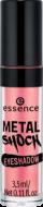 Тени для век Essence Metal shock eyeshadow 07 абрикосовый с блеском