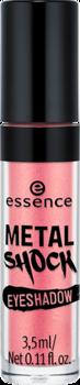 Тени для век Essence Metal shock eyeshadow 07 абрикосовый с блеском: фото