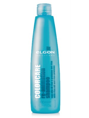 Шампунь восстанавливающий ELGON COLOR CARE Re-Animation Shampoo, 300 мл: фото