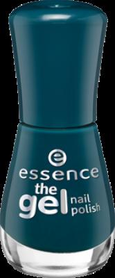 Лак для ногтей The gel Essence 105 сине-зеленый