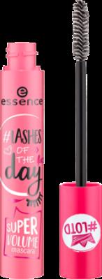 Тушь для ресниц Lashes of the day super volume mascara Essence суперобъемная: фото