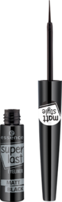 Подводка для глаз Superlast eyeliner matt black Essence матовая: фото