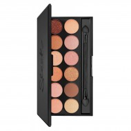 Палетка теней Sleek MakeUp Eyeshadow Palette I-Divine (12 тонов) Peach Perfect