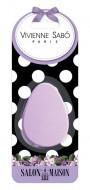 Овальный латексный спонж для макияжа Vivienne Sabo/Oval latex makeup sponge/ Latex oval sponge de maquillage: фото