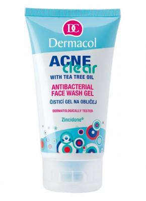 Антибактериальный гель для умывания Dermacol Acneclear Antibacterial Face Wash Gel: фото