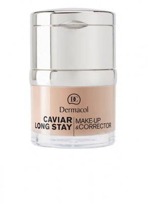 Стойкий тональный крем Dermacol Caviar Make-up тон 1: фото