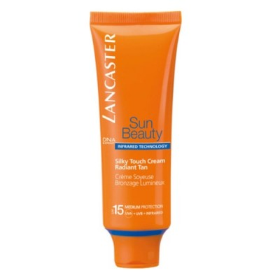 Крем легкий Lancaster Sun Beauty Care сияющий загар spf15 50 мл: фото