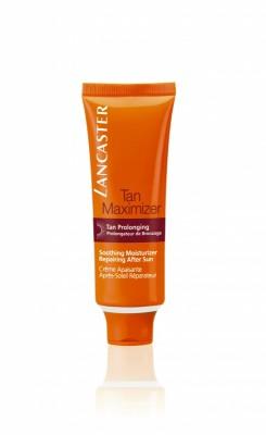 Успокаивающий увлажняющий крем.Lancaster After Sun - Tan Maximizer восстановление после загара для всех типов кожи (для лица) 50 мл: фото
