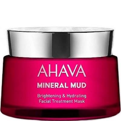 Маска для лица увлажняющая придающая сияние Ahava Mineral Mud Masks 50 мл: фото