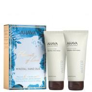 Набор Ahava Deadsea Water Крем для рук минеральный 100 мл , крем для ног минеральный 100 мл: фото