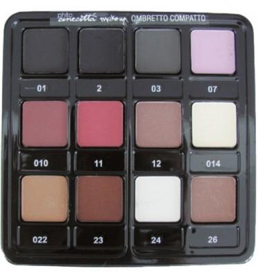 Палитра 12 - тени Cinecitta Palette 12 Compact Eye Shadows №01-26: фото