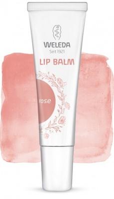 Увлажняющий бальзам для губ Rose 10 мл WELEDA: фото