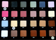 Палитра 24 - тени Cinecitta Palette Compact Eye Shadow 24 №01-31: фото
