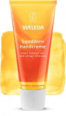 Крем для рук с облепихой 50 мл WELEDA: фото