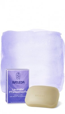 Лавандовое растительное мыло 100 г WELEDA: фото
