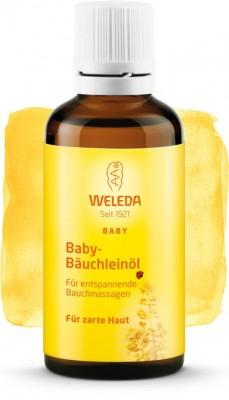 Масло для массажа животика младенцев 50 мл WELEDA: фото