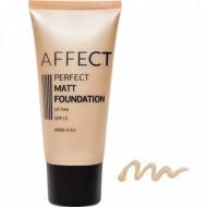 Матирующий тональный крем Affect Perfect Matt Foundation SPF 15, oil free F-0001: фото