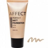 Матирующий тональный крем Affect Perfect Matt Foundation SPF 15, oil free F-0003: фото