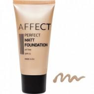 Матирующий тональный крем Affect Perfect Matt Foundation SPF 15, oil free F-0004: фото