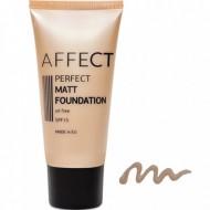 Матирующий тональный крем Affect Perfect Matt Foundation SPF 15, oil free F-0005: фото