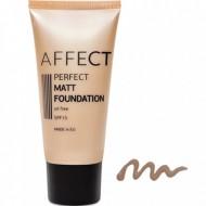 Матирующий тональный крем Affect Perfect Matt Foundation SPF 15, oil free F-0006: фото
