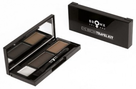 Набор для бровей Bronx Colors Eye Brow Travel Kit DARK BROWN: фото
