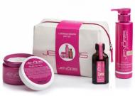 Набор кератиновый Jenoris Keratin Gift Set шампунь 250 мл+ маска 250мл+масло 50 мл 550 мл: фото