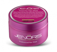 Восстанавливающая маска для сухих и поврежденных волос Jenoris Pistachio Hair Mask 250 мл: фото