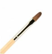 Кисть для ногтей ВАЛЕРИ-Д (лак) из волоса пони №6 овальная: фото