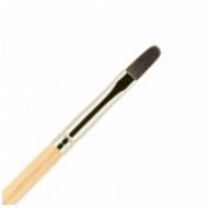 Кисть для ногтей ВАЛЕРИ-Д (лак) из волоса белки №4 овальная: фото