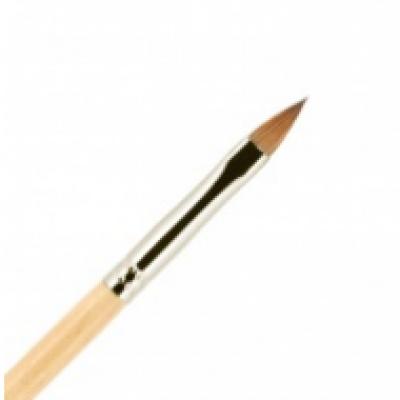 Кисть для ногтей ВАЛЕРИ-Д лак из волоса колонка №4 лепесток: фото