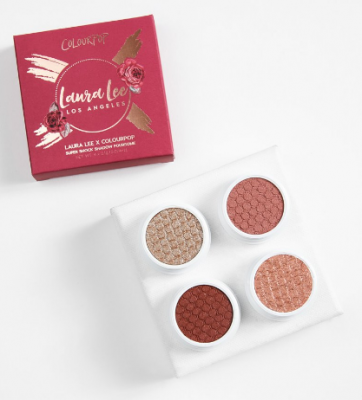 Палетка теней ColourPop Foursome NKLA X LAURA LEE: фото