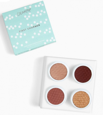 Палетка теней ColourPop Foursome FIRST CHARMER: фото