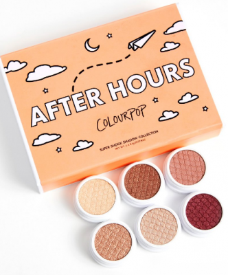 Палетка теней ColourPop AFTER HOURS: фото