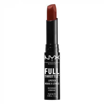 Помада-стик NYX Professional Makeup Full Throttle Lipstick - CON ARTIST 01: фото