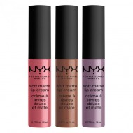Набор помад NYX Professional Makeup Soft Matte Lip Cream - Set 15: фото