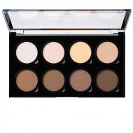 Палетка для скульптурирования лица NYX Professional Makeup HIGHLIGHT & CONTOUR PRO PALETTE 01: фото