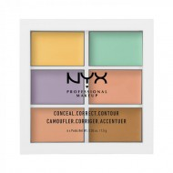 Палитра консилеров NYX Professional Makeup COLOR CORRECTING PALETTE 304: фото