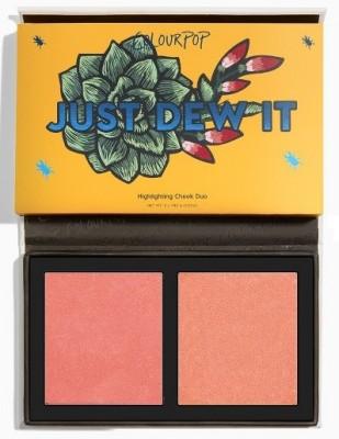 Палетка румян ColourPop Pressed Powder Face Duo JUST DEW IT: фото