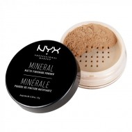 Рассыпчатая пудра NYX Professional Makeup Mineral Finishing Powder - MEDIUM/DARK 02: фото