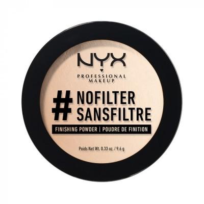 Компактная пудра NYX Professional Makeup #Nofilter Finishing Powder - ALABASTER 01: фото