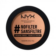 Компактная пудра NYX Professional Makeup #Nofilter Finishing Powder - DEEP GOLDEN 13: фото