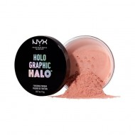 Рассыпчатая пудра NYX Professional Makeup Holographic Halo Finishing Powder - MAGICAL 02: фото