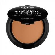 Пудра-основа NYX Professional Makeup Stay Matte But Not Flat Powder Foundation - DEEP OLIV 185: фото