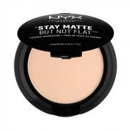Пудра-основа NYX Professional Makeup Stay Matte But Not Flat Powder Foundation - LIGHT BEIGE 015: фото